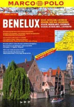 Benelux államok atlasz - Marco Polo