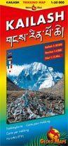 Kailash turistatérkép - Gecko Maps