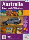 Ausztrália autóatlasz (Road & 4WD Atlas) - Hema