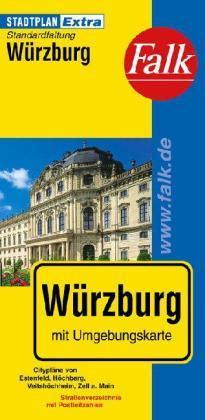 Würzburg Extra várostérkép - Falk