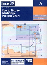 Puerto Rico to Martinique Chart A - Imray