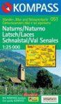 Naturno, Laces, Val Senales turistatérkép (WK 051) - KOMPASS
