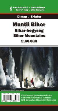 Bihar-hegység turistatérkép - Dimap & Erfatur