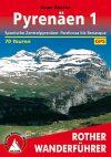 Pireneusok (1), német nyelvű túrakalauz - Rother