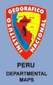 Arequipa tartomány térkép - IGN (Peru Survey)