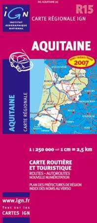 Aquitaine - IGN R15