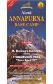 North Annapurna Base Camp (No.42) térkép - Himalayan Maphouse