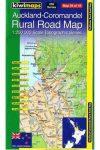 Auckland - Coromandel térkép - Kiwimaps
