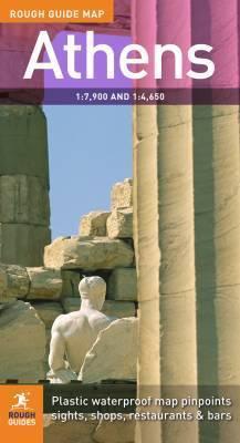 Athén térkép - Rough Maps