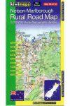 Nelson - Marlborough térkép - Kiwimaps