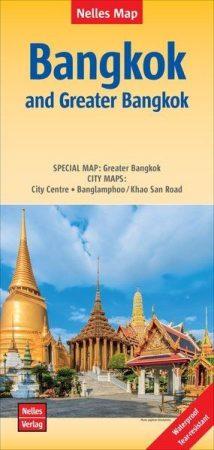 Bangkok és környéke térkép - Nelles