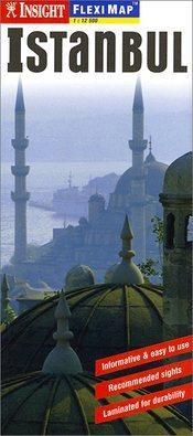 Isztambul laminált térkép - Insight