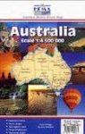 Ausztrália térkép - Hema