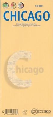 Chicago térkép - Borch