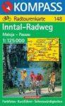 Inn-Radweg : Maloja-Passau - Kompass RWK 148