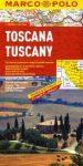 Toscana térkép - Marco Polo