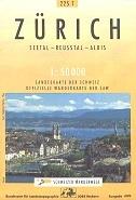 Zürich - Landestopographie T 225