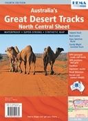 Australia's Great Desert Tracks: North Central térkép - Hema