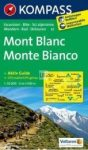 Mont Blanc turistatérkép (WK 85) - Kompass