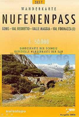 Nufenenpass - Landestopographie T 265
