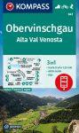 Alta Val Venosta turistatérkép (WK 041) - Kompass