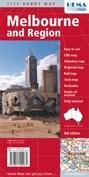 Melbourne és környéke térkép - Hema