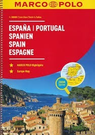 Spain & Portugal, travel atlas - Marco Polo