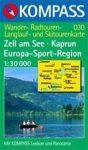 Zell am See, Kaprun turistatérkép (WK 030) - Kompass