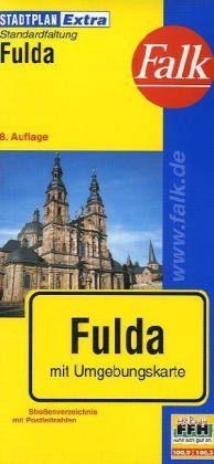 Fulda Extra várostérkép - Falk