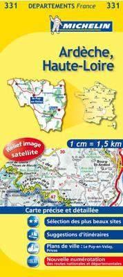 Ardèche, Haute-Loire (331) - Michelin