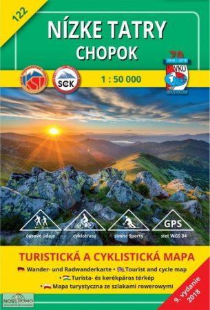 Low Tatra Mountains, Chopok (HM 122), hiking map - VKÚ