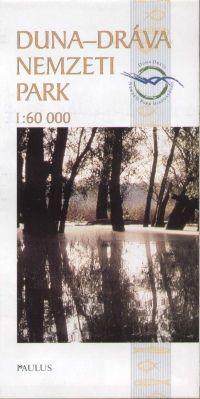 Duna-Dráva Nemzeti Park térkép - Paulus