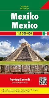 Mexikó autótérkép - Freytag-Berndt