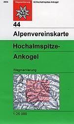 Hochalmspitze, Ankogel - Alpenvereinskarte 44