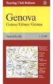 Genova térkép - TCI