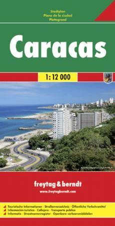 Caracas várostérkép - Freytag-Berndt
