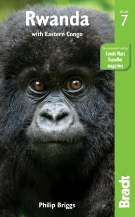 Rwanda, guidebook in English - Bradt