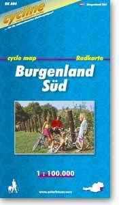 Burgenland Süd kerékpártérkép - (RK-A 17)