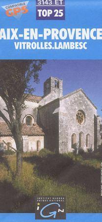 Aix en Provence / Vitrolles / Lambesc - IGN 3143ET