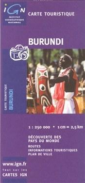 Burundi térkép - IGN