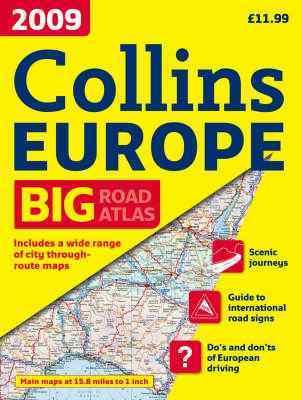 Európa autóatlasz 2009 (A4) - Collins