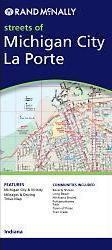 Michigan City, La Porte, MI térkép - Rand McNally