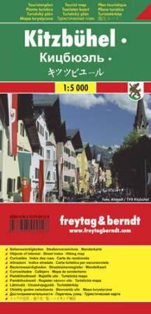 Kitzbühel várostérkép - Freytag-Berndt