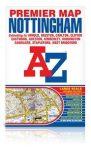 Nottingham térkép - A-Z