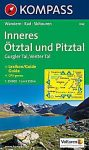 Inner Ötztal and Pitztal, hiking map (WK 042) - Kompass