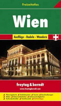 Bécs szabadidőatlasz - Freytag-Berndt