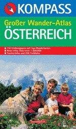 Österreich Großer Wander Atlas - Kompass K 602