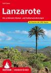 Lanzarote, német nyelvű túrakalauz - Rother