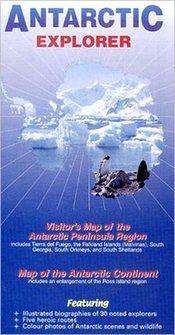 Antarktisz térkép - Ocean Explorer