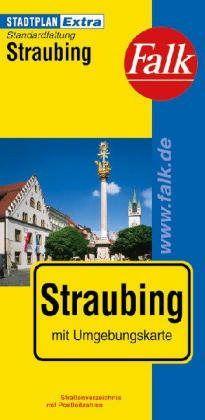 Straubing Extra várostérkép - Falk